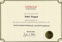 Oracle Certified Professional Java SE 6 Programmer